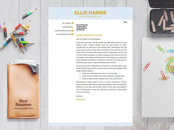 Top Resumes Templates Resume Template With A Cover Letter And References Template Get A .