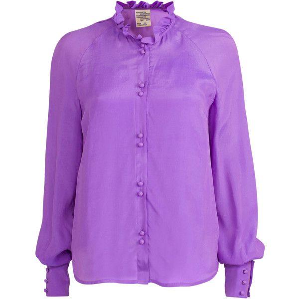 Mani Lavender Blouse Moda Operandi 355 Liked On Polyvore