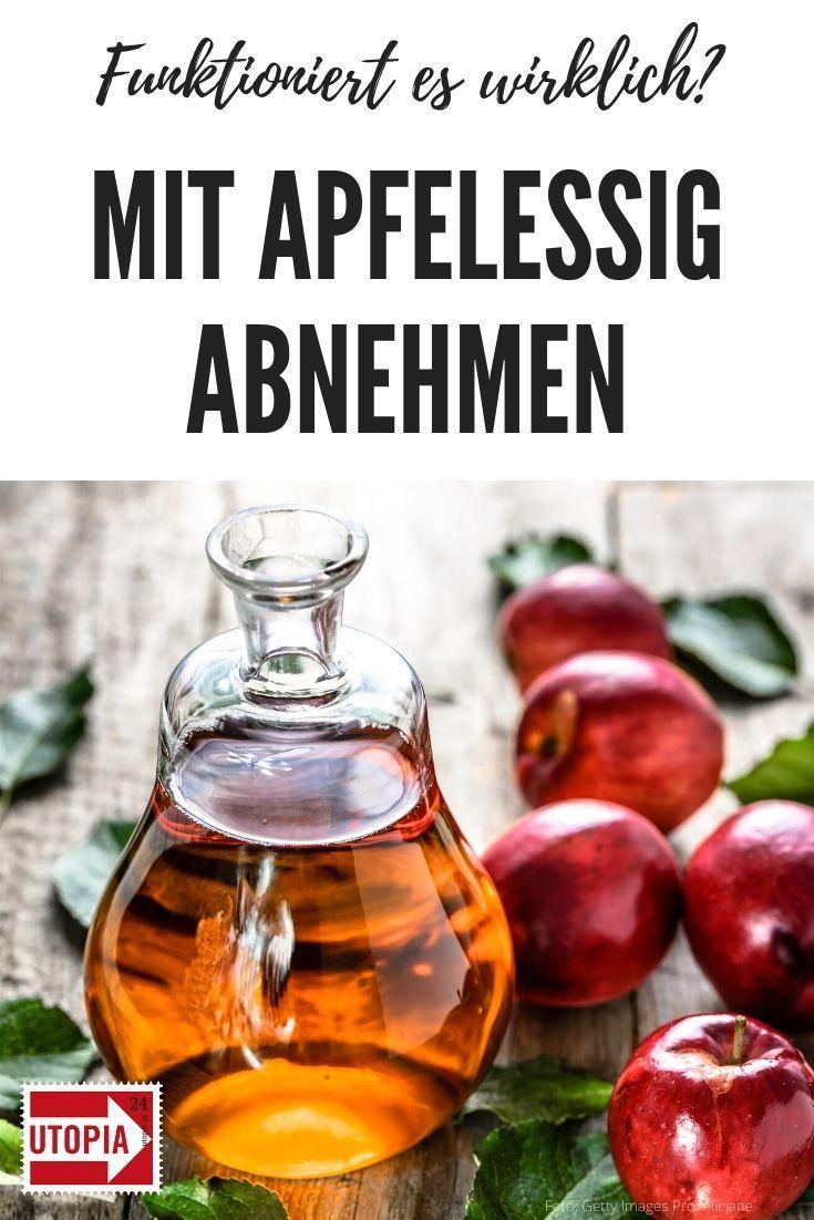 Mit Apfelessig abnehmen #Äpfelverwerten