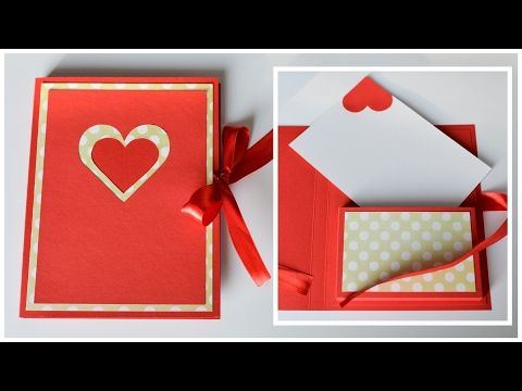 How to make greeting card valentines day step by step diy how to make greeting card valentines day step by step diy kartka walentynkowa m4hsunfo