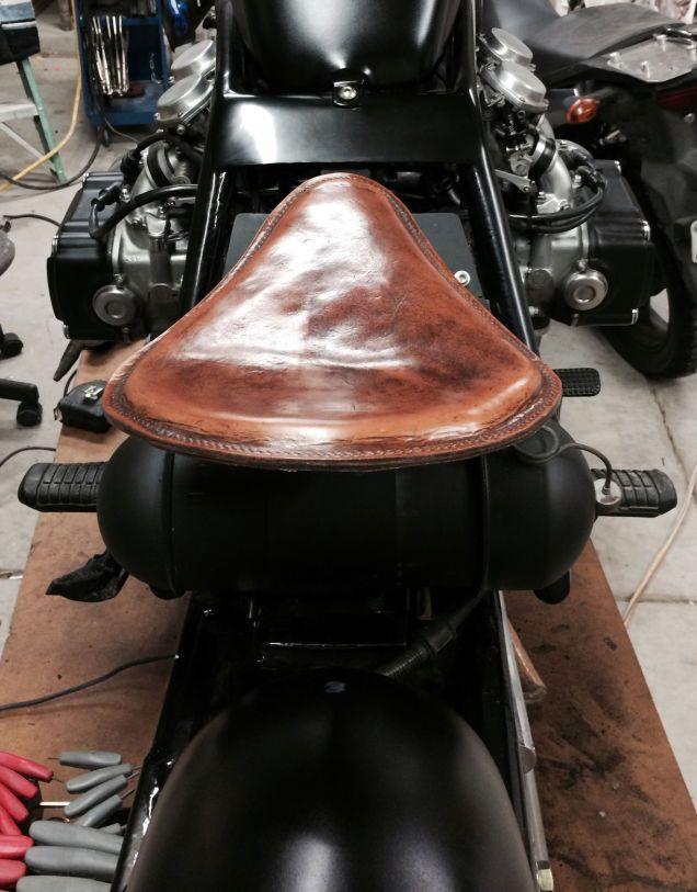 Diy bobber motorcycle seat custom motorcycle pinterest bobber diy bobber motorcycle seat solutioingenieria Images