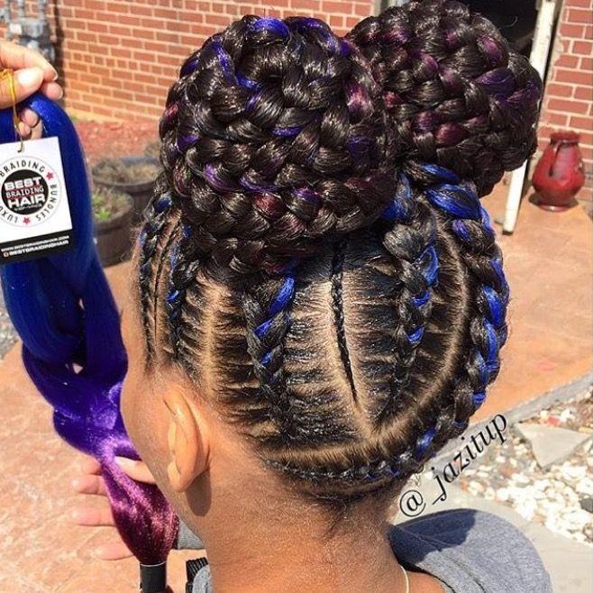 Pin By Elaborate Braids On B R A I D S T W I S T S Hair Styles Cornrow Styles For Girls Kids Braided Hairstyles