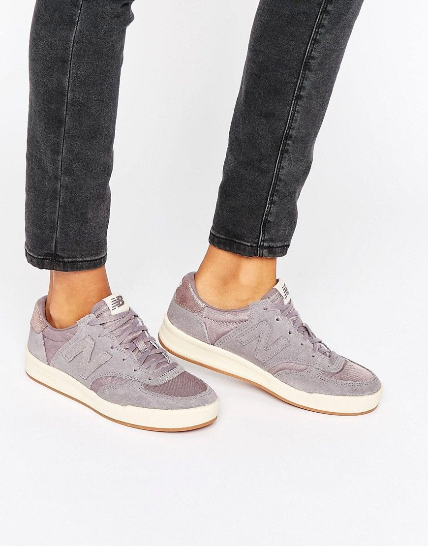 new concept c9f2a c7c33 Buy it now. New Balance 300 Court Trainers In Grey Suede With Metallic Trim  - Grey. Trainers by New Balance, Textile upper, Suede overlays, ...