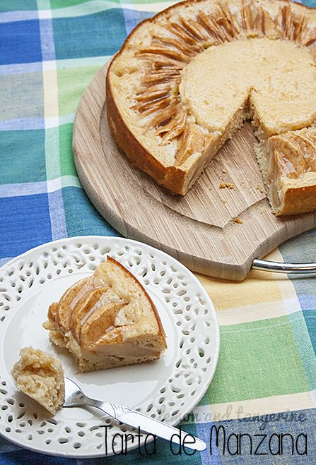 Spanish Apple Pie Tangerine recipes, Food recipes, Apple pie