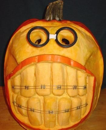 Now THIS is a different Punkin face!