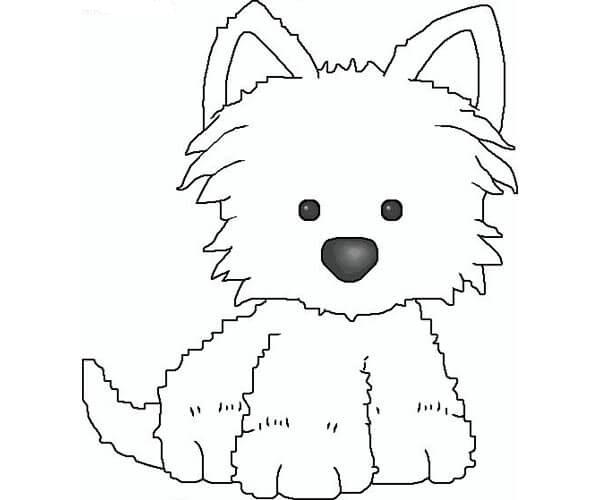 Kawaii Dibujos De Perros Para Pintar Dibujos De Perros Para Colorear Dibujos De Perros Dibujo De
