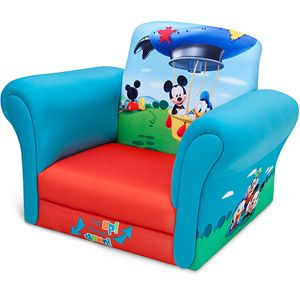 Mickey Mouse Clubhouse Chair White Stacking Chairs Plastic Disney Upholstered Found This At Wal Mart For Less Money Then Toys R Us 44 98