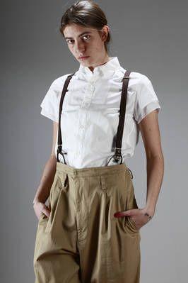 classic man shirt in cotton poplin - Y'S Yohji Yamamoto