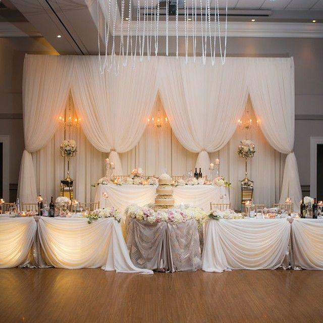 Wedding Reception Head Table Ideas: A Glance At My Fairytale…