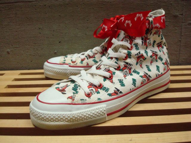 01774f3d4a9f Made in USA CONVERSE ALL STAR HI CHRISTMAS made in USA converse all-star  Christmas limited edition model dead stock