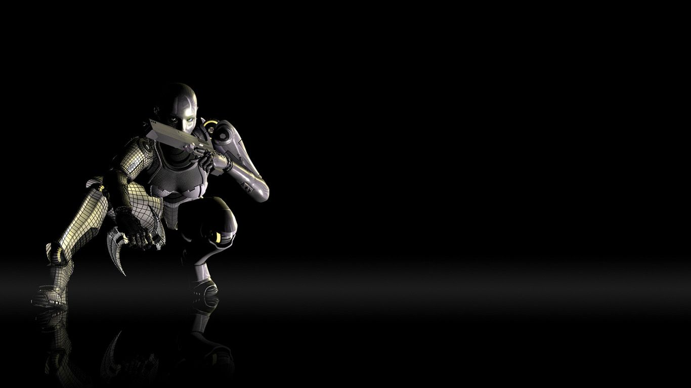 3d hd wallpapers funny and creative 3d wallpapers - Robot wallpaper 3d ...