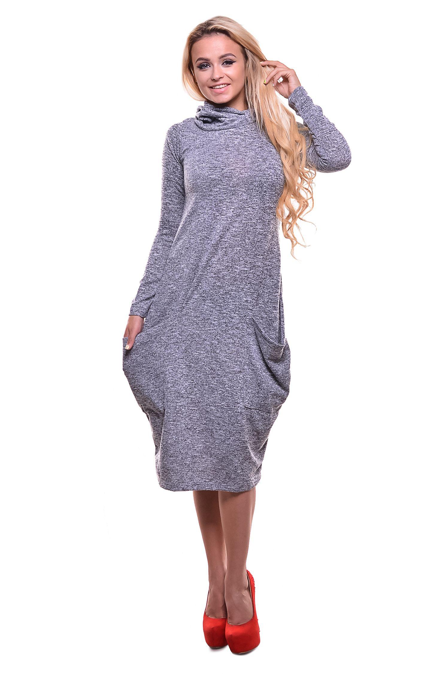 a97ea71212a2caf Платье-бочонок с кармашками Состав ткани: 90% хлопок 10% эластан. Платье