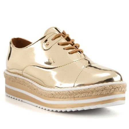 Sapatos VIZZANO de mulher oxford flatform , compare preços e
