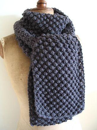 Echarpe Point Dastrakan Tricot Tricot Et Crochet
