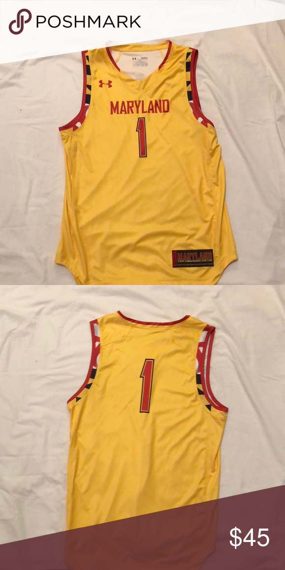 wholesale dealer 8c571 f095c University of Maryland basketball jersey This is a YLG ...