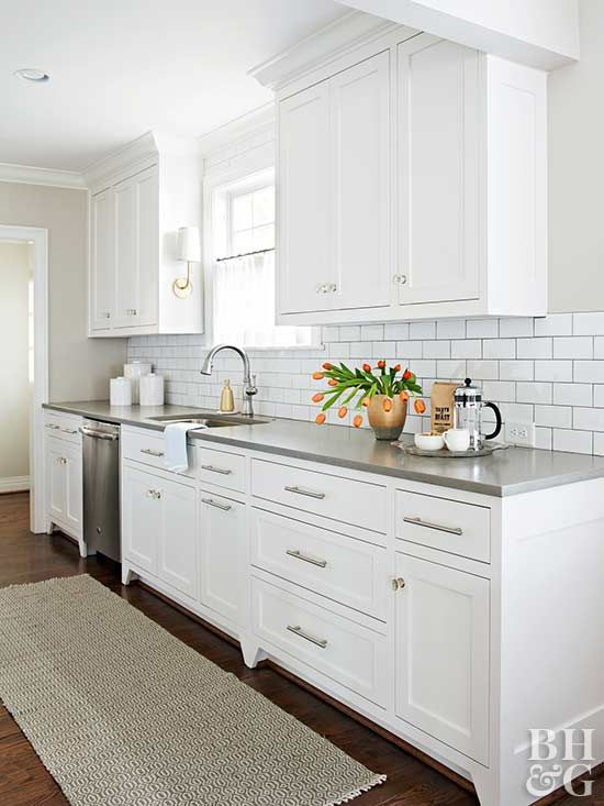 You Have To See This Charming Cape Cod House Makeover Kitchen Remodel Galley Kitchen Design Kitchen Renovation