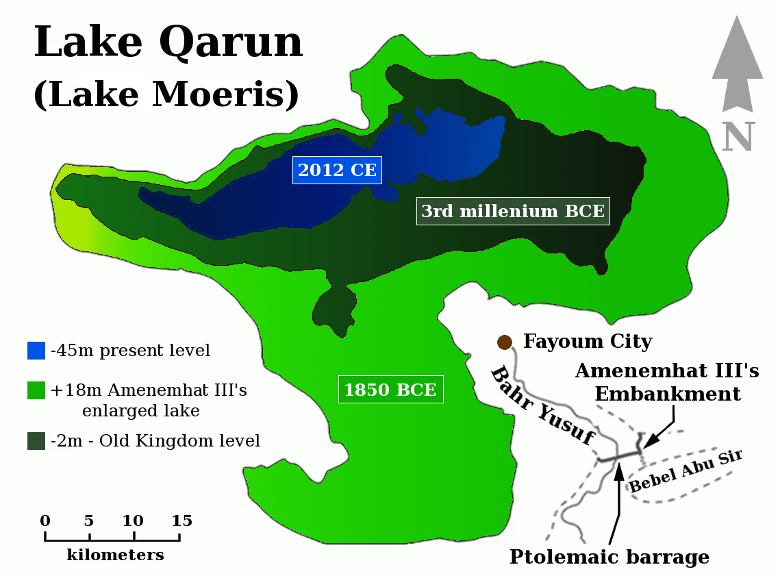 Lake Moeris Qarun History Map Of Water Levels In Keelynet News 2012 Free Energy Gravity Control Electronic Health Aka