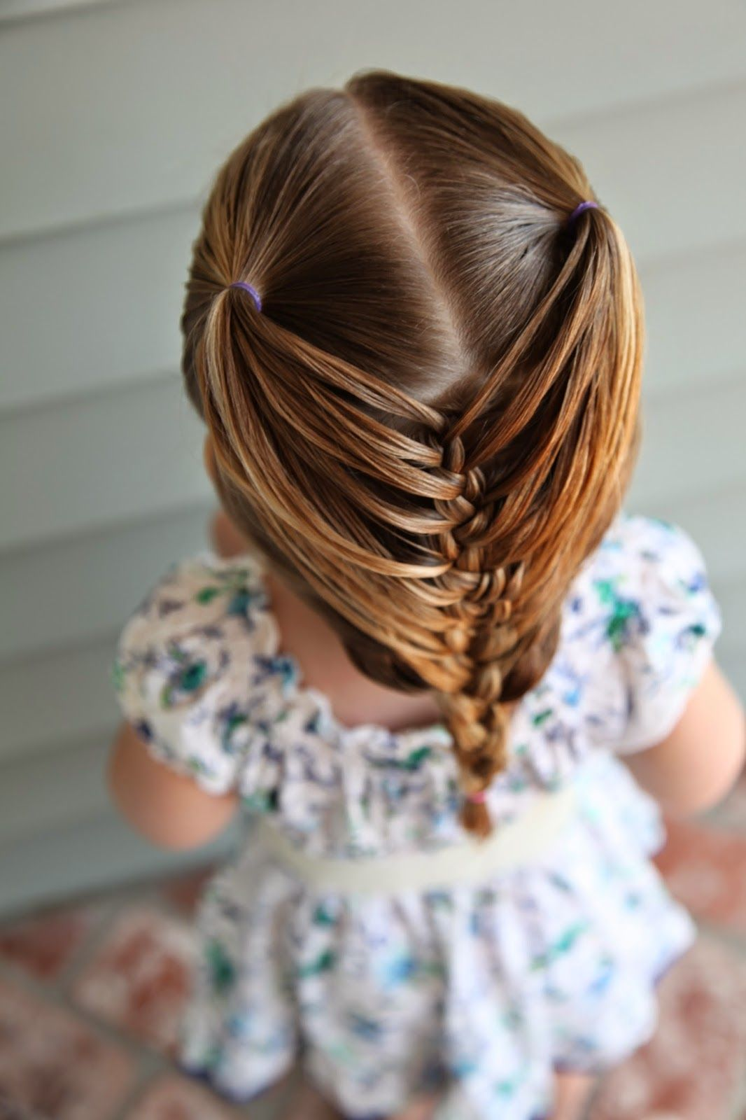abella's braids: help for your toddler's hair! | addy hair
