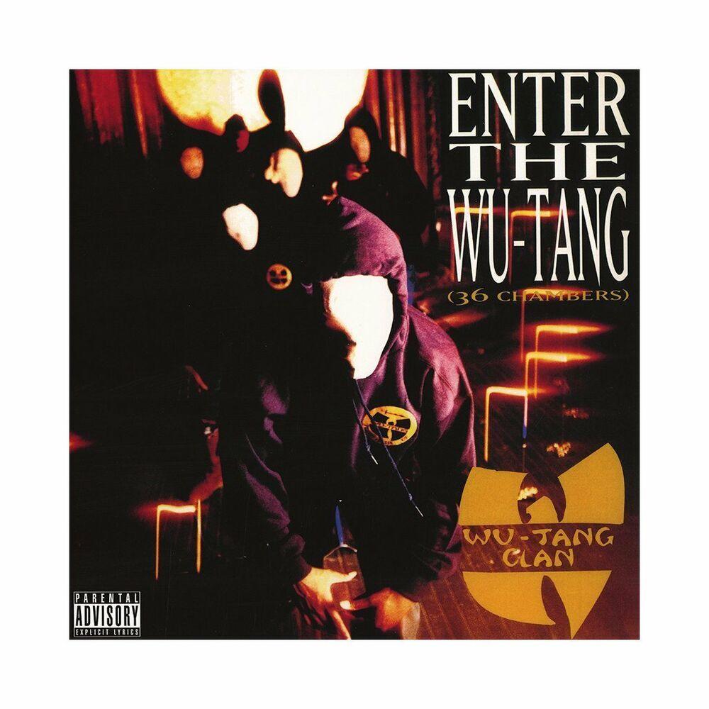 Wu Tang Clan Enter The Wu Tang 36 Chambers Latest Pressing Vinyl Record Album Wu Tang Cream Wu Tang Wu Tang Clan