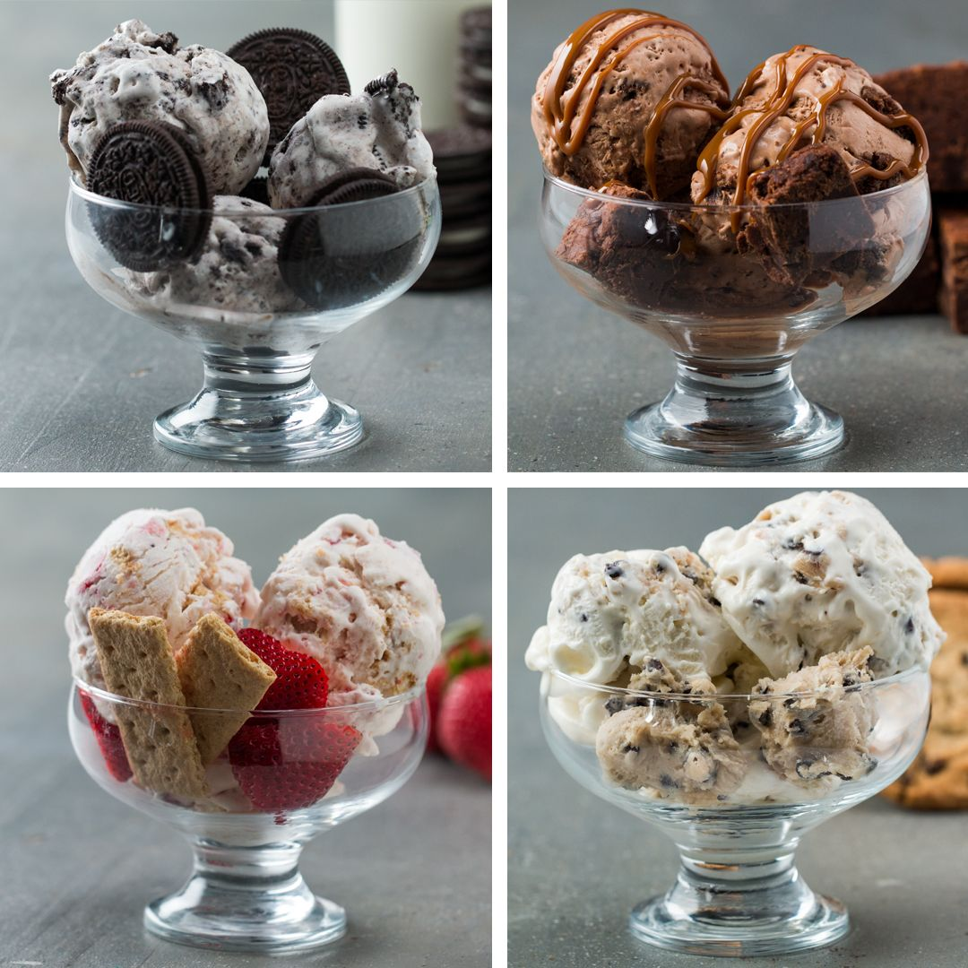 Homemade Ice Cream 4 Ways | Recipes