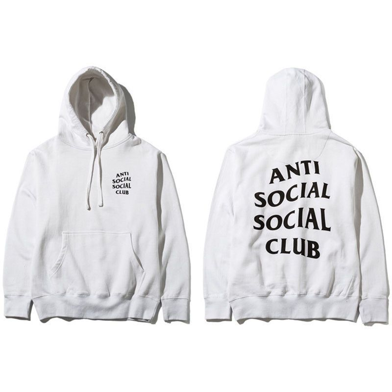 a336315e958f White Anti-Social Social Club Signature Hoodie