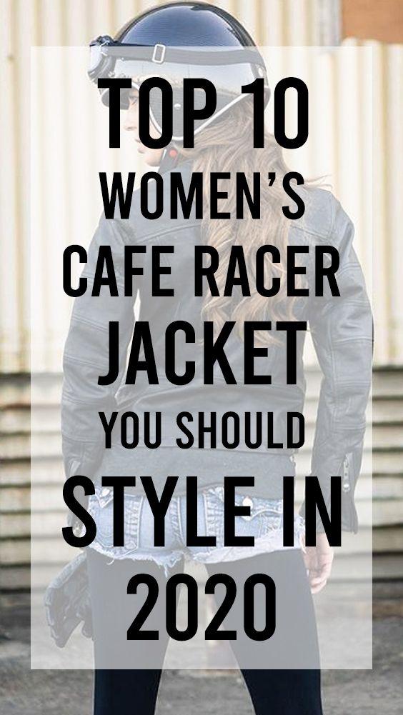 #Womens #CafeRacer #Jacket StyleIn2020 #Fashionworld #Leather