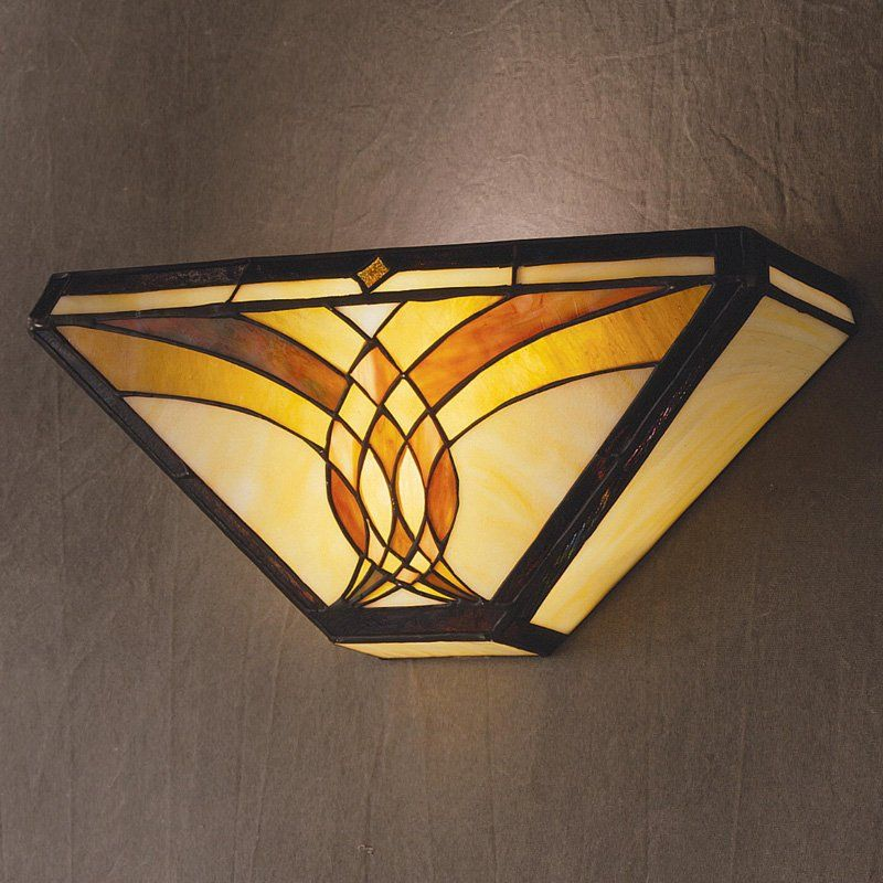 Kichler Art Glass Creations Wall Bracket Sconce - 18.75L Bronze ...