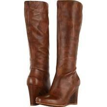 chestnut ugg australia kendrick tall wedge boot