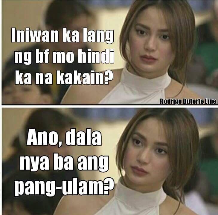 Ulam Hugot Lines Tagalog Funny Filipino Quotes Tagalog Quotes Hugot Funny