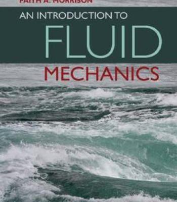An Introduction To Fluid Mechanics PDF | Physics | Fluid mechanics