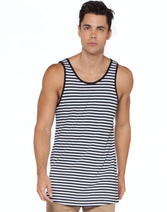 Kit Stripe Tall Singlet