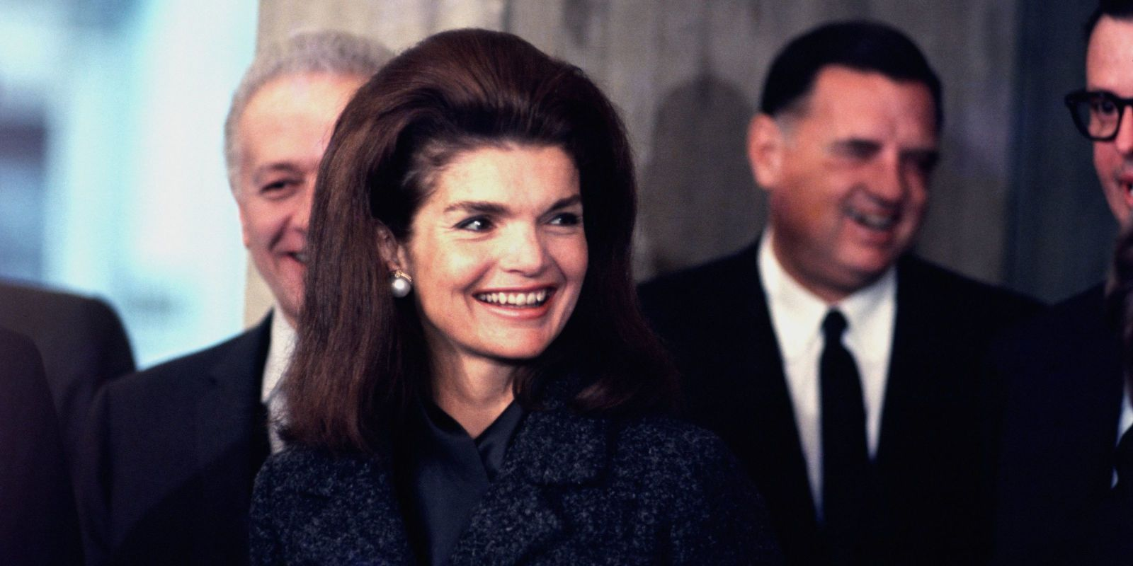 Jackie Kennedy Rejected a Marriage Proposal From One of JFK's Closest Friends  http://www.elle.com/culture/news/a42904/jacqueline-kennedy-david-ormsby-gore-letter-auction/
