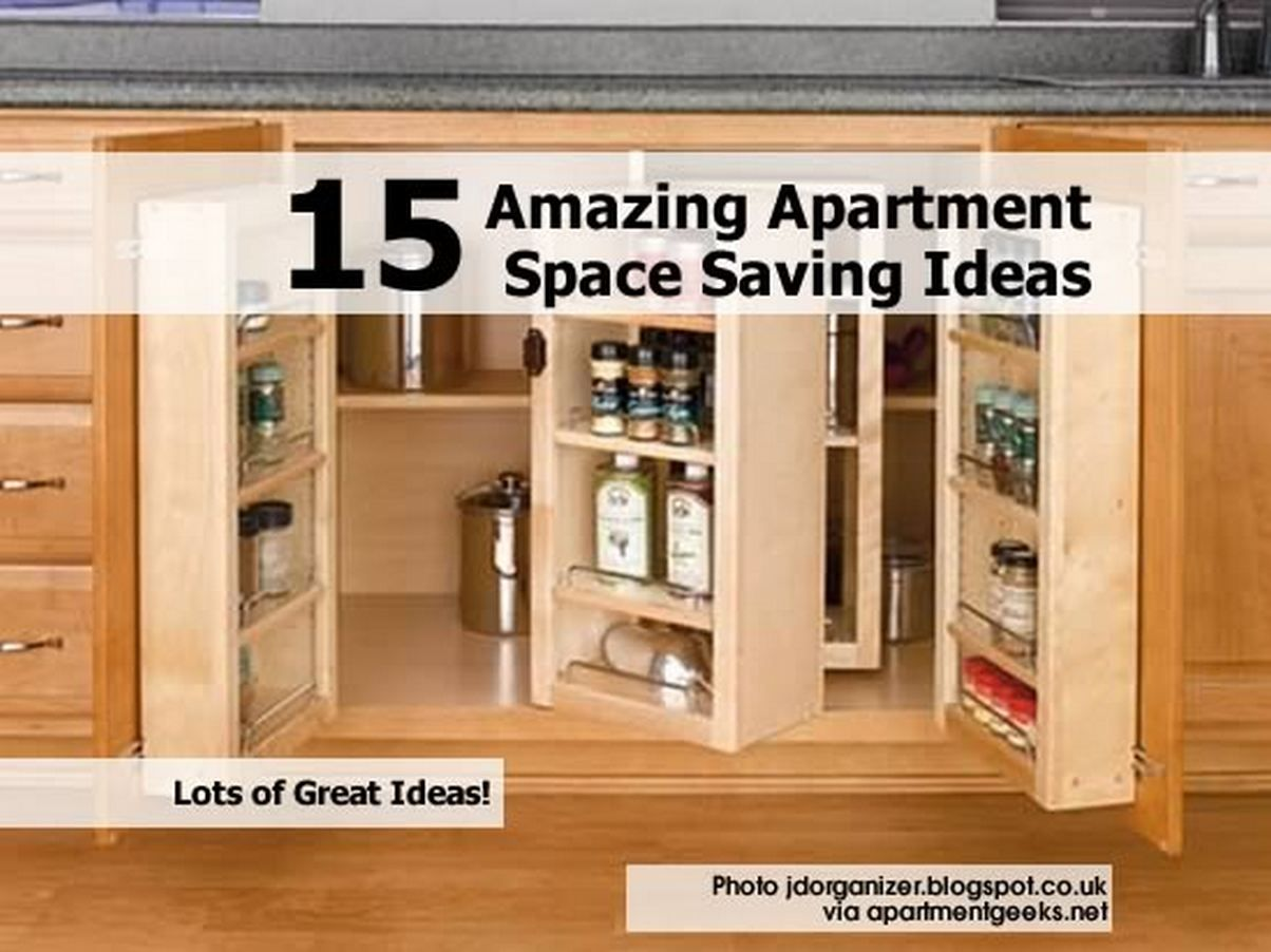 15 Amazing Apartment Space Saving Ideas Idees And Solutions