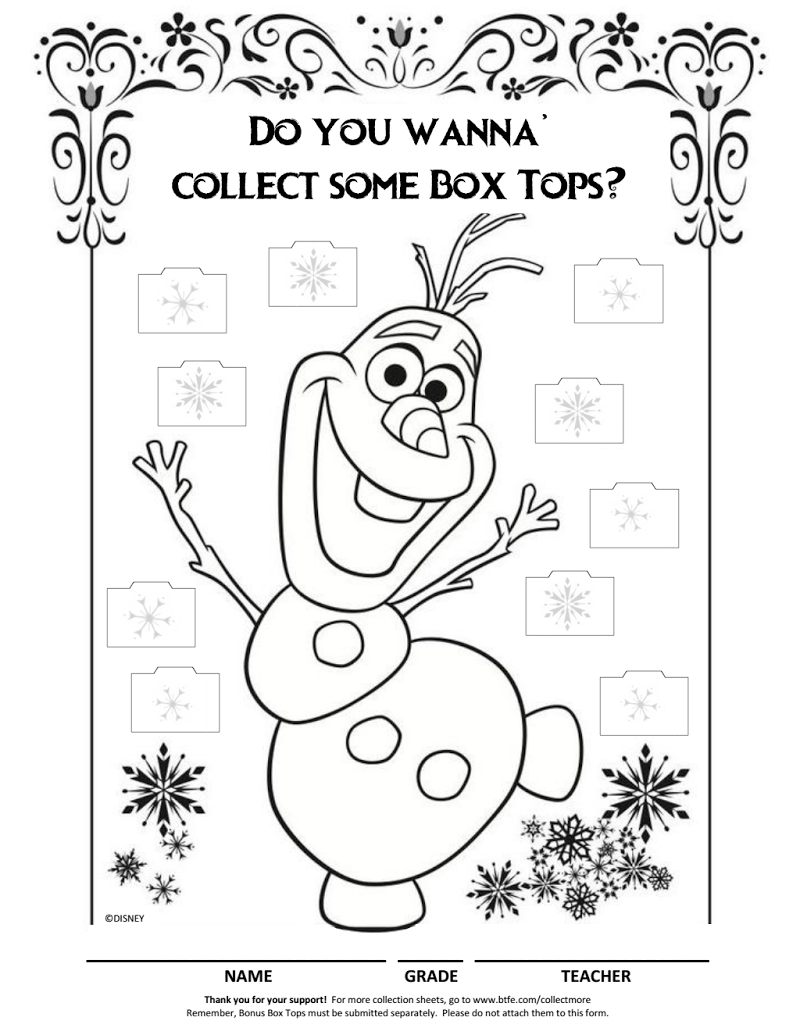 Olaf Collectionsheet Pdf Summer Coloring Pages Frozen Coloring Pages Frozen Coloring