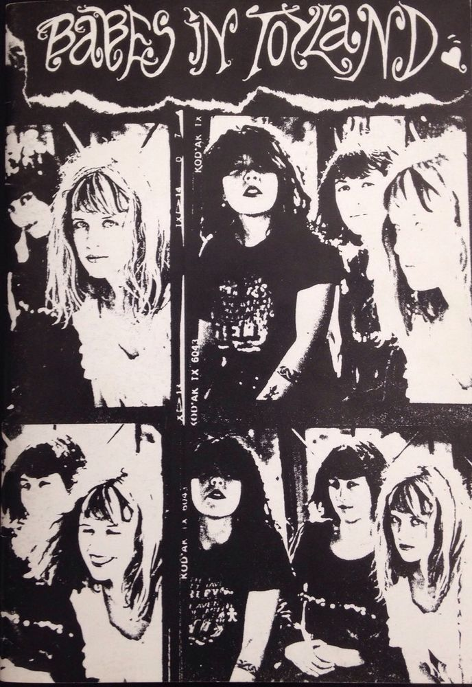 Babes In Toyland Lyric Book Grunge Immaculate Condition | Grunge ...