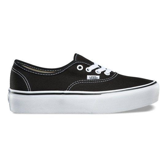 Authentic Platform 2.0 Shoes | Vans | Platform vans, Shoes, Vans