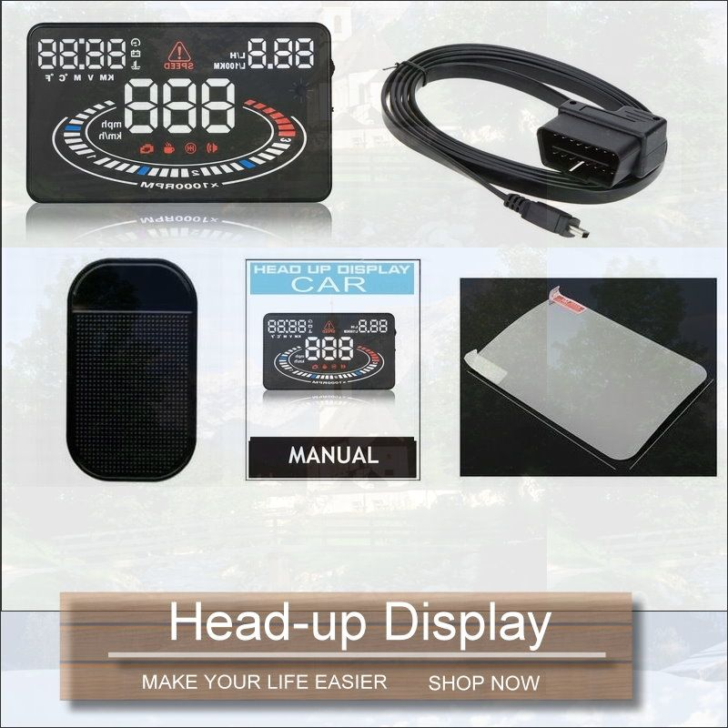 Car Computer Screen Display Projector Refkecting Windshield For Renault Megane 2015 2016 Safe Driving Head Up Display Car Electronics Electronic Accessories