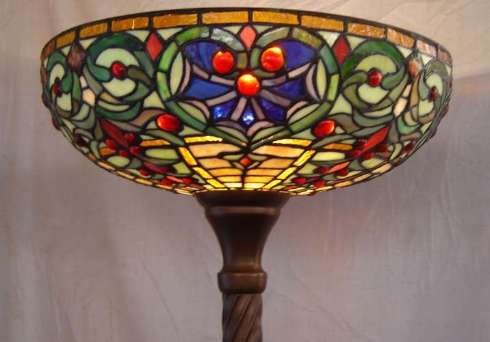 Stained glass lamp glass lamp for heavenly stained glass lamp glass lamp for natural stained glass lamps sydney and qvc stained glass floor lamps handmade stained glass lamp with tulips flower mozeypictures Image collections