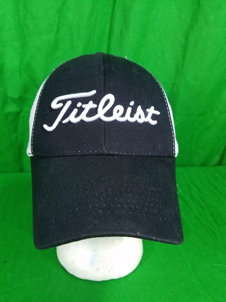 Titleist Golf Hat Trucker Mesh Strapback FootJoy Cap  FootJoy  BaseballCap b7b62731884