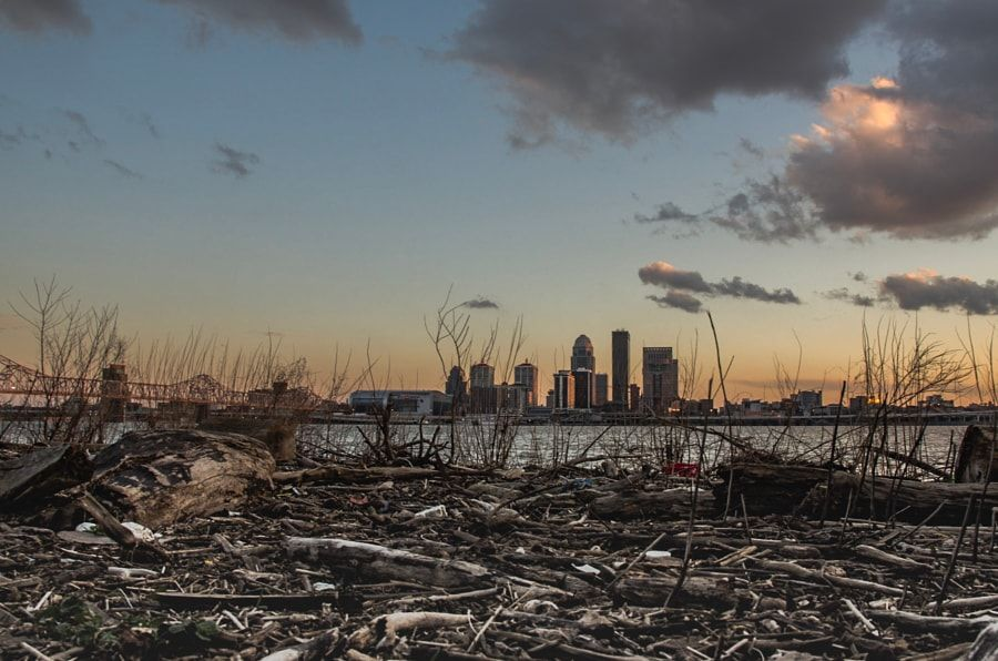 Sunset over Louisville - Kentucky Photography by Nick Laborde