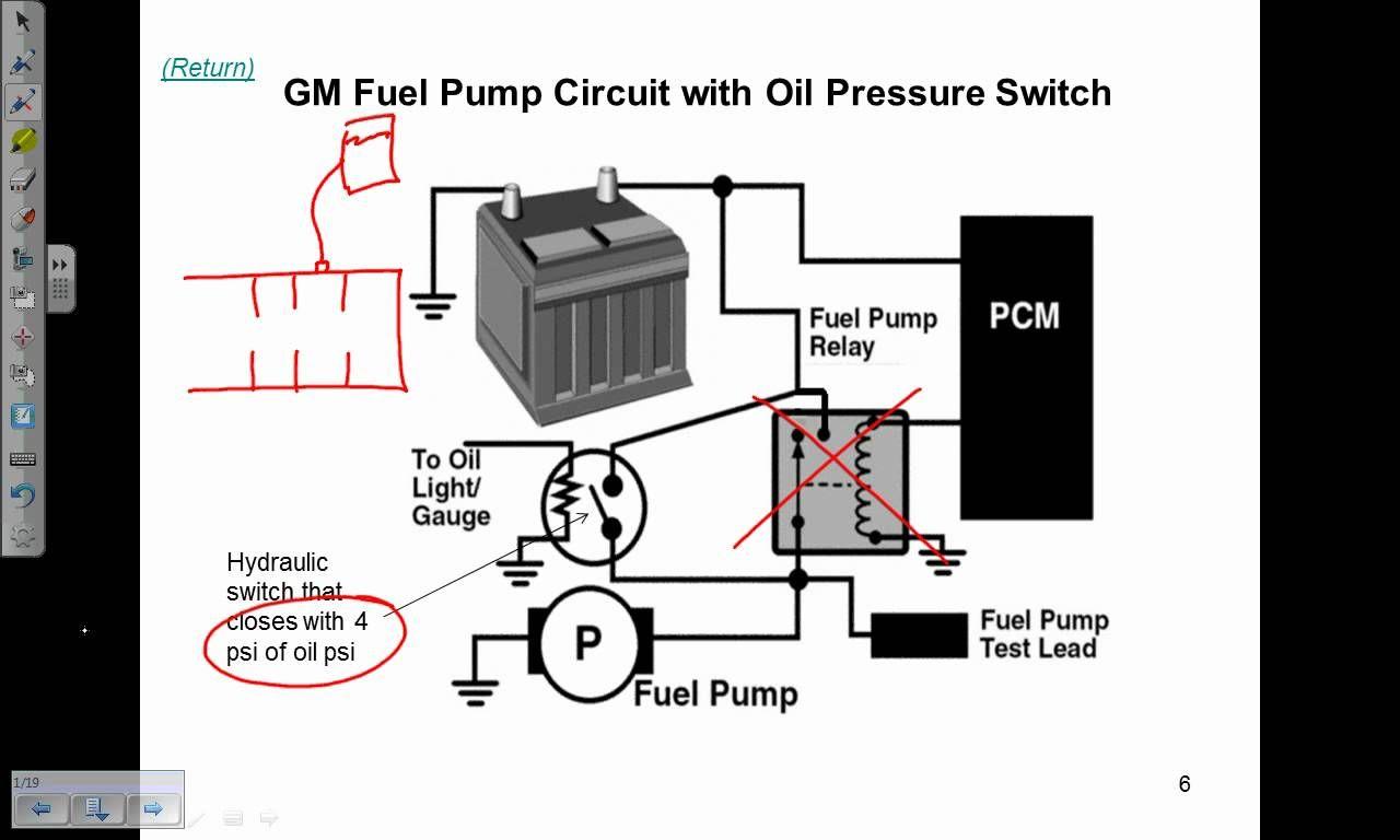 Fuel Pump Electrical Circuits Description And Operation