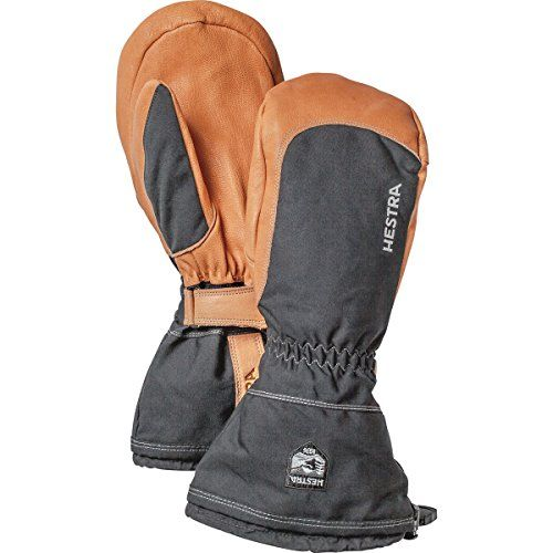 Hestra Winter Ski Narvik Wool Terry Removal Liner Leather Glove
