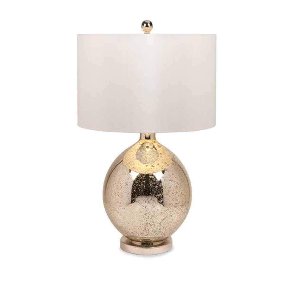 Imax Gold 31 In H Avignon Mercury Glass Table Lamp 86603 The Home Depot Mercury Glass Lamp Mercury Glass Table Lamp Glass Table Lamp