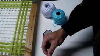 Bernat telar de tejer tutorial - La multitud de ganchillo - YouTube