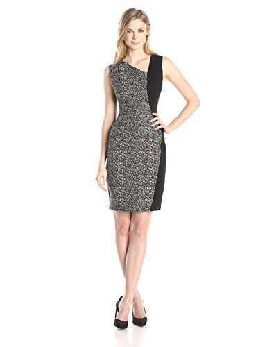 24edbfc2281b1 Elie Tahari Womens Lyndsey Dress BlackWhite 12 ** Want to know more, click  on the image.(This is an Amazon affiliate link and I receive a commission  for the ...