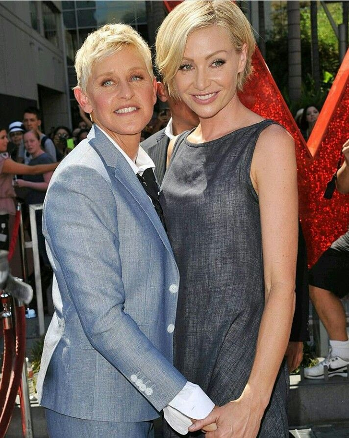 Pin By Betsy Fenner On Ellen Degeneres Portia De Rossi Portia De Rossi Ellen And Portia Ellen Degeneres And Portia