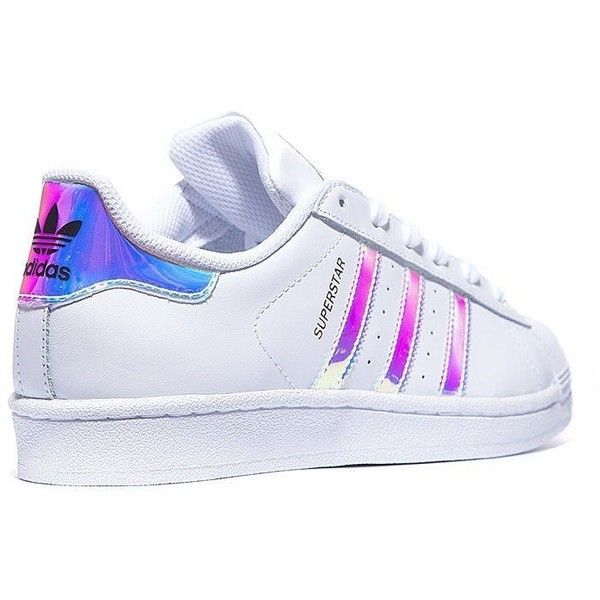 liked on Polyvore featuring shoes, sneakers, adidas, blue shoes, iridescent shoes, adidas shoes and adidas footwear