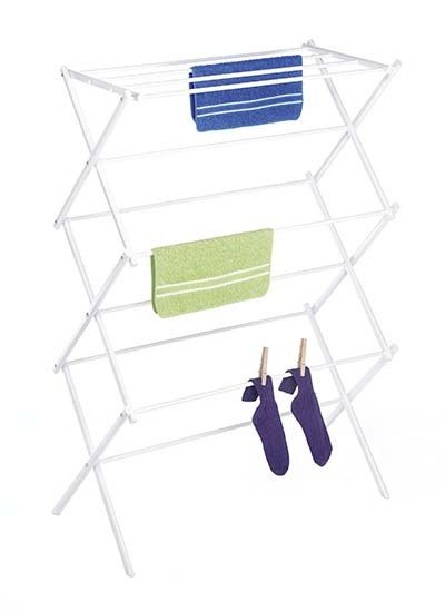 Whitmor Inc Wire Folding Clothes Drying Rack