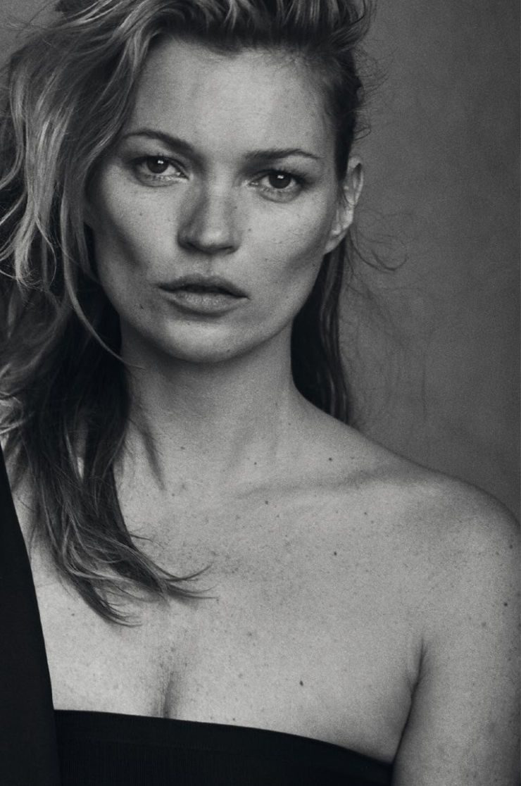 Kate Moss Un-photoshopped by Peter Lindbergh