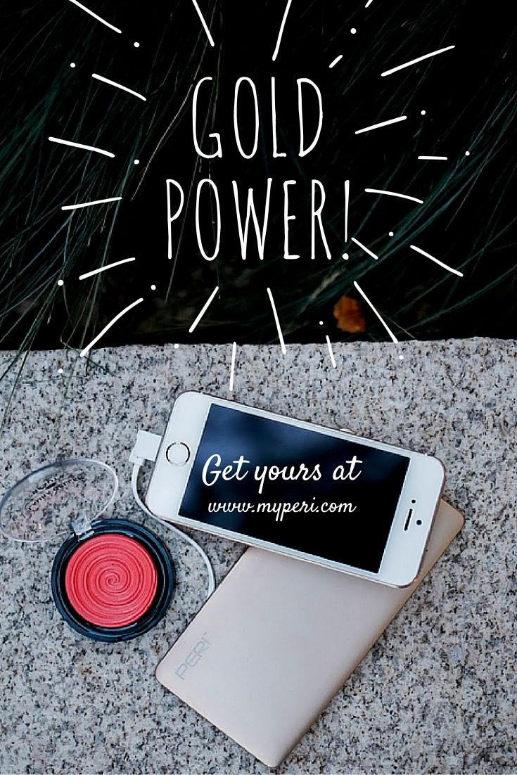 #phoneaccessories #powerbank #fashion #iphone #gold